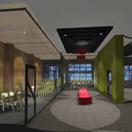 Meeting rooms & music and games room